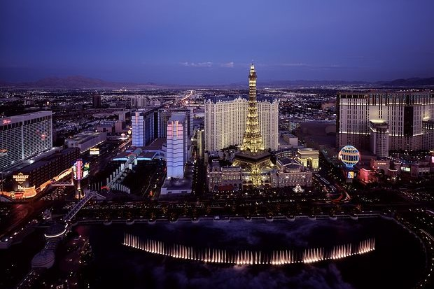Las Vegas by night, Planify Group Travel Planning, Planify, CES, Las Vegas, itinerary app