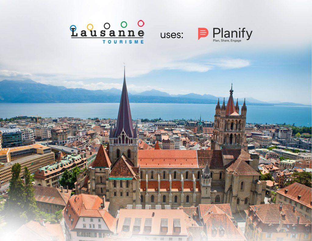 Tourisme Office; Lausanne-tourisme; planify-app-tourism