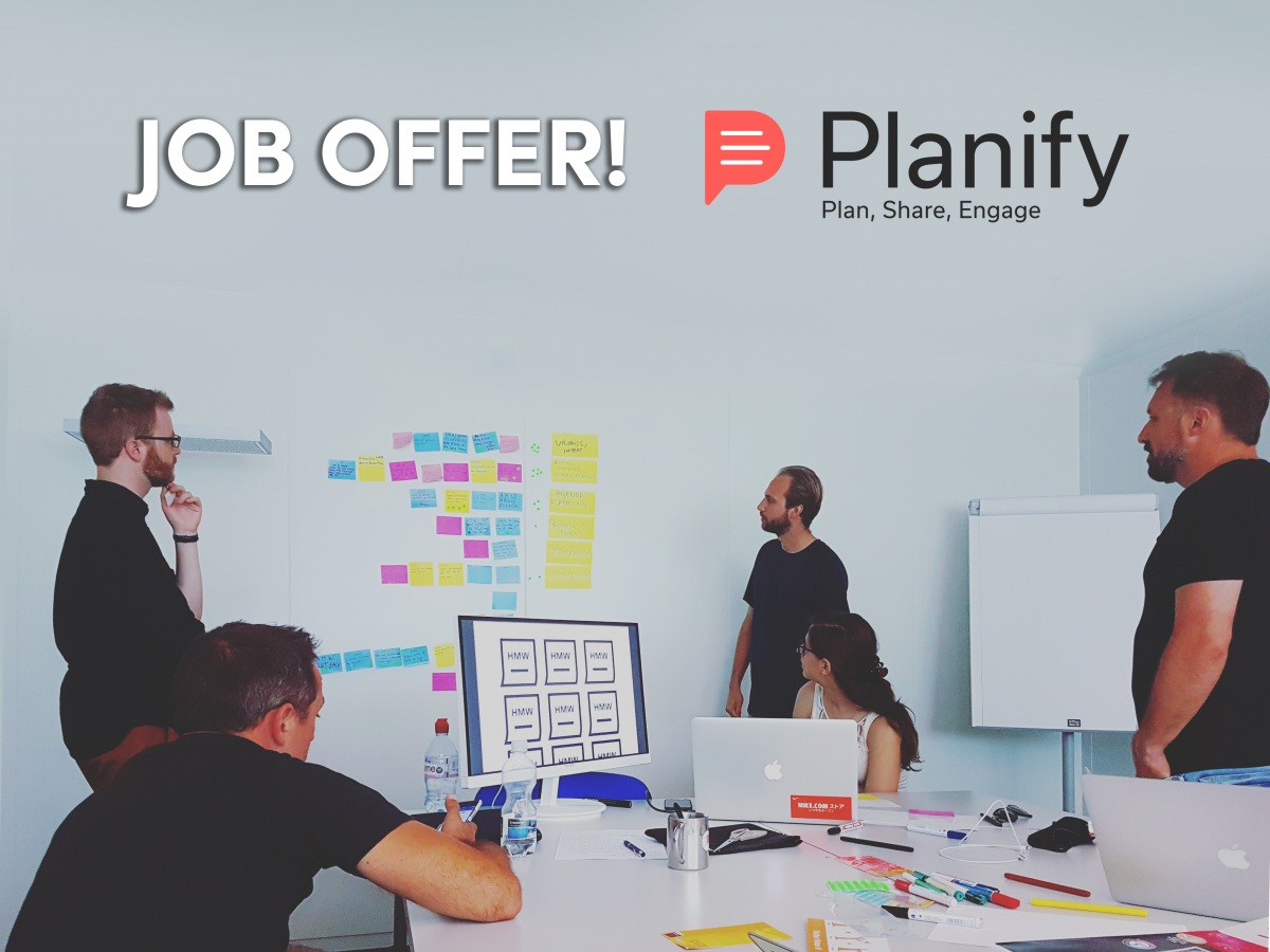 planify job offer marketing software