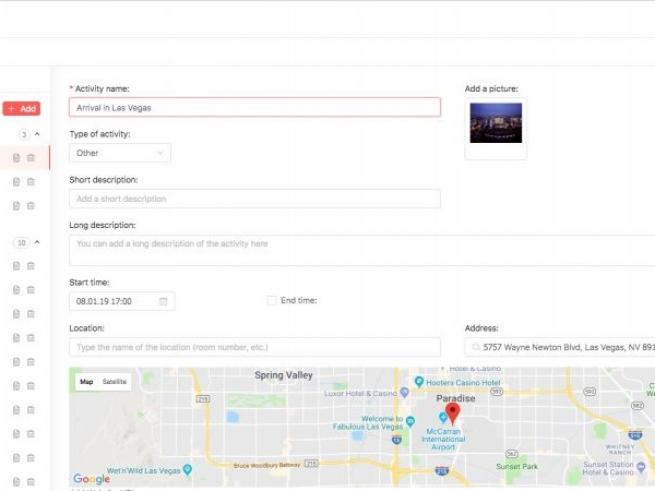 Planify Manager, Planify, Group Travel Itinerary Solution