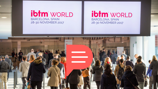 ibtmworld 2018, Planify, group travel itinerary